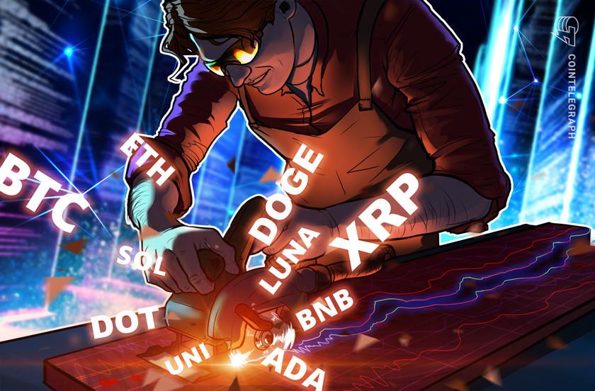 Price analysis 10/18: BTC, ETH, BNB, ADA, XRP, SOL, DOT, DOGE, LUNA, UNI