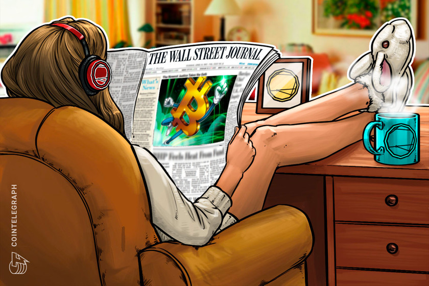 Bitcoin hits the front page of The Wall Street Journal