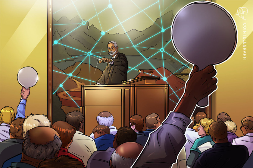 Bitcoin-based artwork smashes records, sells for $100k