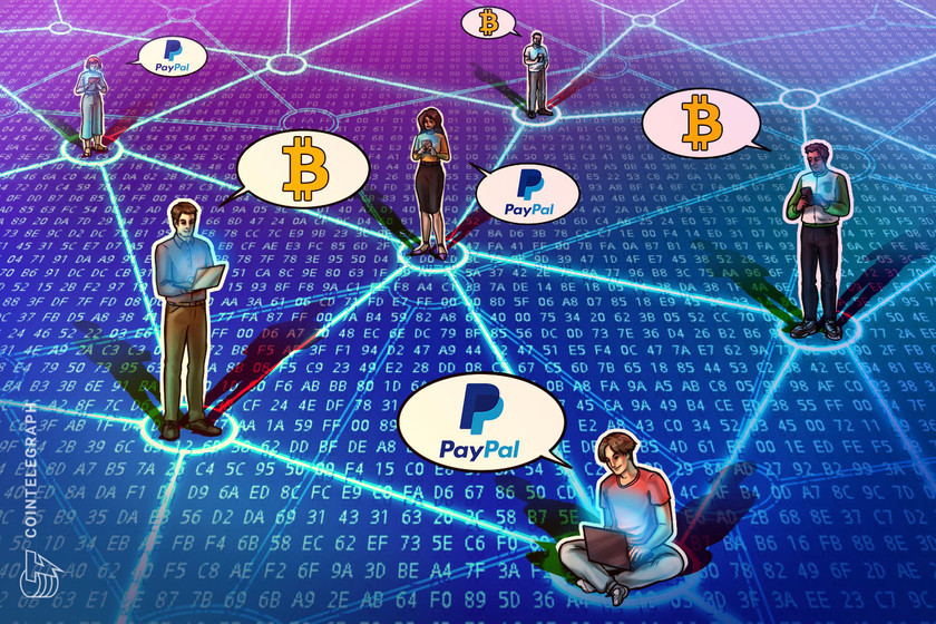 PayPal's crypto integration means Bitcoin could triple its user base