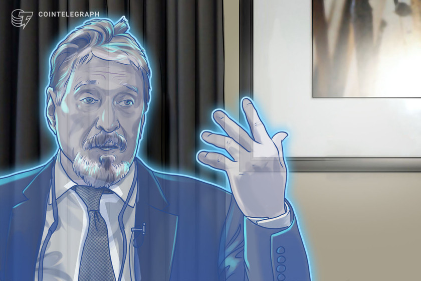 SEC bring John McAfee to court over ICO promotion