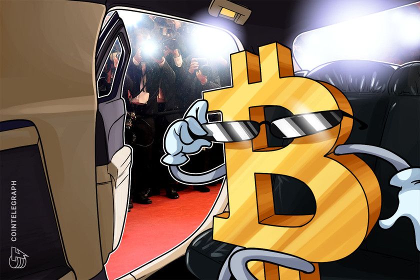 Grammy-nominated record producer joins the Bitcoin club